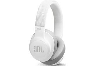 JBL Draadloze hoofdtelefoon + ingebouwde Google Assistant Wit