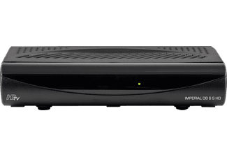 IMPERIAL DB 6 S HD HDTV Sat-Receiver (HDTV, DVB-S, DVB-S2, schwarz)