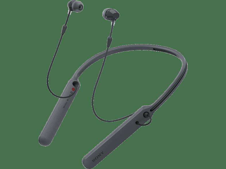 SONY WI-C 400, In-ear Kopfhörer Bluetooth Schwarz