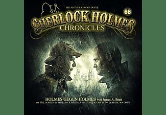 Sherlock Holmes Chronicles - Holmes gegen Holmes Folge 66  - (CD)