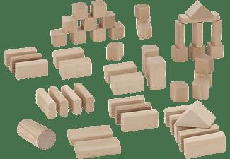 EICHHORN Natur Holzbausteine Spielset Naturfarben