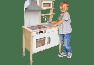 EICHHORN Spielküche Spielset Weiß