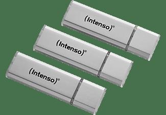 INTENSO 3521483 Tripplepack USB Stick (Silber, 32 GB)