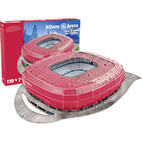 Nanostad Allianz Arena Stadion 3D Puzzle 1. FC Bayern