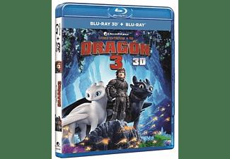 Como Entrenar A Tu Dragon 3 - Blu-ray 3D + Blu-ray