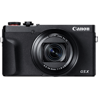 CANON PowerShot G5 X Mark II Digitalkamera Schwarz, 20.1 Megapixel, 5fach opt. Zoom, Touchscreen-LCD (TFT), WLAN