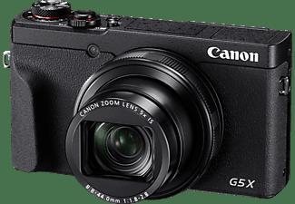 CANON PowerShot G5 X Mark II Digitalkamera Schwarz, 5fach opt. Zoom, Touchscreen-LCD (TFT), WLAN