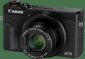 CANON PowerShot G7 X Mark III Digitalkamera Schwarz, 4.2fach opt. Zoom, Touchscreen-LCD (TFT), WLAN