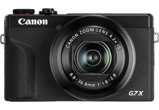 CANON PowerShot G7 X Mark III Digitalkamera Schwarz, 4.2fach opt. Zoom, Touchscreen-LCD (TFT), WLAN