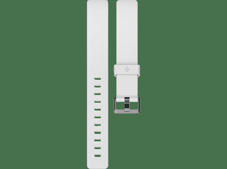 FITBIT FB169ABWTL, Ersatzarmband, Fitbit, Inspire, Inspire HR, Weiß