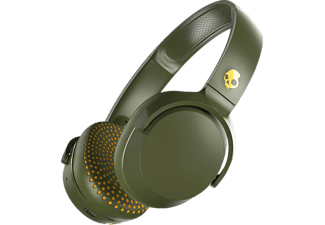 SKULLCANDY S5PXW-M687 RIFF, On-ear Kopfhörer Bluetooth Olive/Gelb