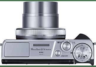 CANON Digitalkamera PowerShot G7 X Mark III, silber (3638C002AA)