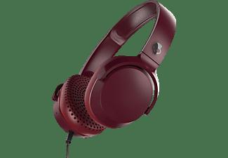 SKULLCANDY 0878615098152 RIFF, On-ear Kopfhörer Rot/Schwarz