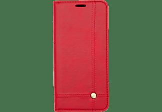 V-DESIGN VPR 100, Bookcover, Huawei, P Smart + (2019), Rot