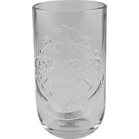 PALADONE PRODUCTS Harry Potter Hogwarts 3D Glas Trinkglas, Transparent