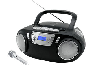 SOUNDMASTER SCD5800SW Radiorecorder, Schwarz