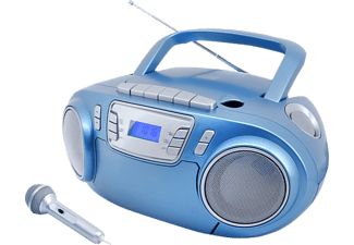 SOUNDMASTER SCD5800BL  Radiorecorder, Blau