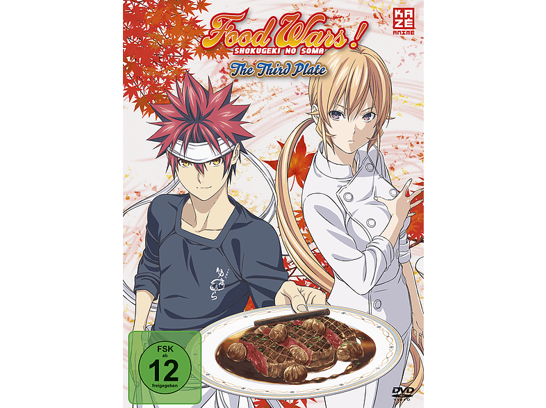 Food Wars! The Third Plate – 3. Staffel – Box 1 – Limited Edition mit Sammelbox  [DVD]