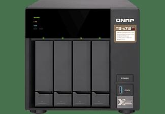 QNAP TS-473 NAS Toren Ethernet LAN Zwart