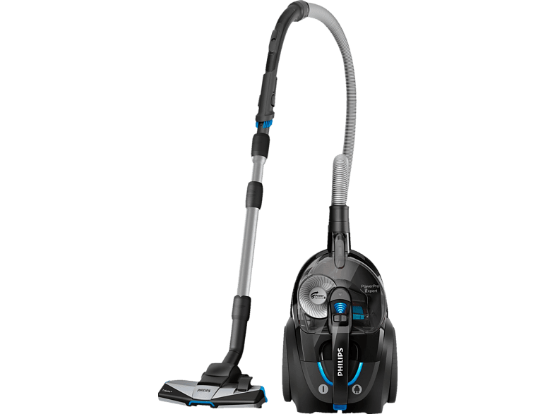 PHILIPS FC 9741 09 PowerPro Expert Staubsauger, maximale Leistung 900 Watt, Schwarz)
