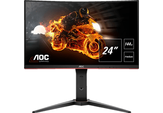 AOC C24G1  Full-HD Gaming Monitor (1 ms Reaktionszeit, FreeSync, 144 Hz)