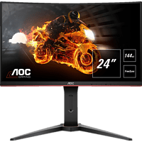 AOC C24G1 24 Zoll Full-HD Gaming Monitor (1 ms Reaktionszeit, FreeSync, 144 Hz)
