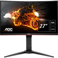 AOC C27G1 27 Zoll Full-HD Curved Gaming Monitor mit FlickerFree-Technologie, 144Hz und FreeSync (1 ms Reaktionszeit, FreeSync, 144 Hz)