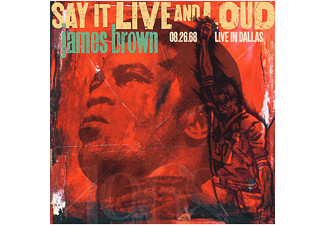 James Brown - Say It Live And Loud: Live In Dallas Vinyle