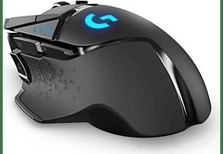 LOGITECH Gaming Maus G502 Lightspeed, kabellos, schwarz (910-005567)