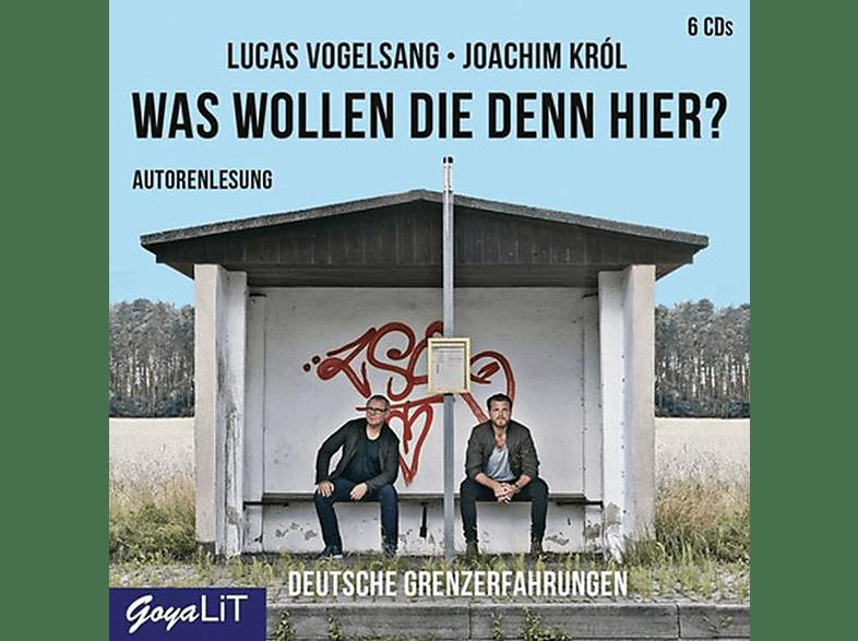 Vogelsang,Lucas/Krol,Joachim - Was Wollen Die Denn Hier? Deutsche Grenzerfahrunge - (CD)