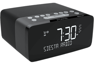 PURE DIGITAL Siesta Charge - Radiosveglia (DAB+, FM, Nero)