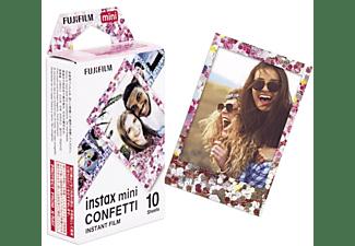 Papel fotográfico - Fujifilm Instax Mini Film Confetti, 10 hojas