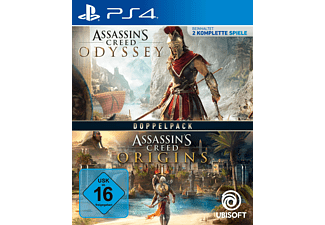 Assassin's Creed Odyssey + Origins Doppelpack - [PlayStation 4]