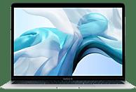 APPLE MVFK2D/A MacBook Air, Notebook mit 13.3 Zoll Display, Core i5 Prozessor, 8 GB RAM, 128 GB SSD, Intel UHD Graphics 617, Silber