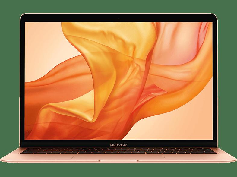 APPLE MVFM2D/A MacBook Air, Notebook mit 13.3 Zoll Display, Core i5 Prozessor, 8 GB RAM, 128 GB SSD, Intel UHD Graphics 617, Gold