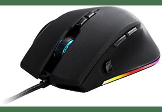 Ratón gaming - Newskill Habrok RGB, 16000 DPI, 250IPS, Negro