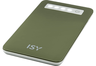 ISY IPP-4000-GN Powerbank 4000 mAh Grün