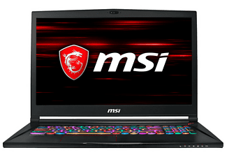 "Portátil gaming - MSI GS63 7RE-095XES, 17.3"", Intel® Core™ i7-7700HQ, 16 GB, 1TB+256GB, GTX1050Ti, FreeDOS"