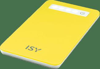 ISY IPP-4000-YL Powerbank 4000 mAh Gelb