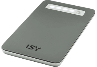 ISY IPP-4000-GY Powerbank 4000 mAh Grau