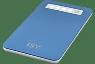 ISY IPP-4000-BL Powerbank 4000 mAh Blau