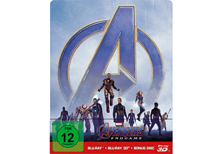 Avengers: Endgame Limited Steel Edition  3D Blu-ray (+2D)