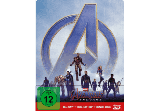 Avengers: Endgame - (3D Blu-ray (+2D)) Steelbook Edition