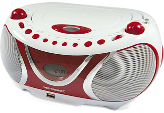 METRONIC Radio CD MP3 Cherry (477117)