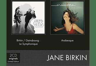 Jane Birkin - Coffret 2CD(Birkin/Gainsbourg:Le Symphonique&Arabe  - (CD)