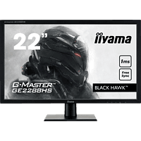 IIYAMA G-MASTER GE2288HS-B1 21.5 Zoll Full-HD Gaming Monitor (1 ms Reaktionszeit, FreeSync, 55 - 75Hz)