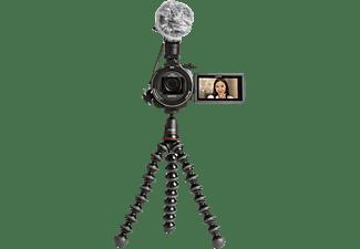 SONY FDR-AX53 Zeiss Creator Kit inkl. Mikrofon, GorillaPod, Camcorder 4K UHD, Exmor R CMOS 8,57 Megapixel, 20xopt. Zoom