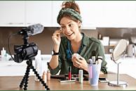 SONY FDR-AX53 Zeiss Creator Kit inkl. Mikrofon, GorillaPod, Camcorder 4K UHD, Exmor R CMOS 8.57 Megapixel, 20x opt. Zoom