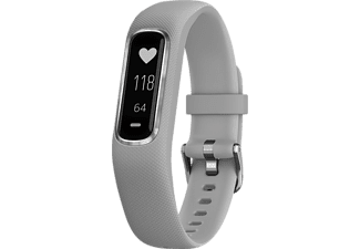 GARMIN vívosmart® 4 Small/Medium - Grå/Silver