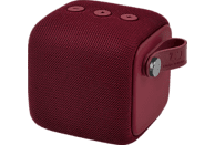 FRESH N REBEL Rockbox Bold S Bluetooth Lautsprecher, Rubinrot, Wasserfest